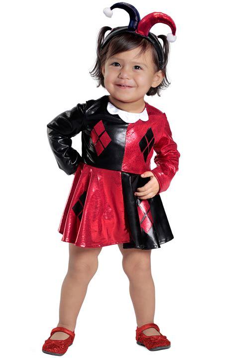 harley quinn dress  diaper cover infanttoddler costume purecostumescom