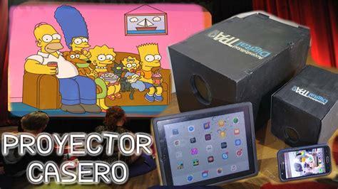 diy big screen projector  android iphone ipad