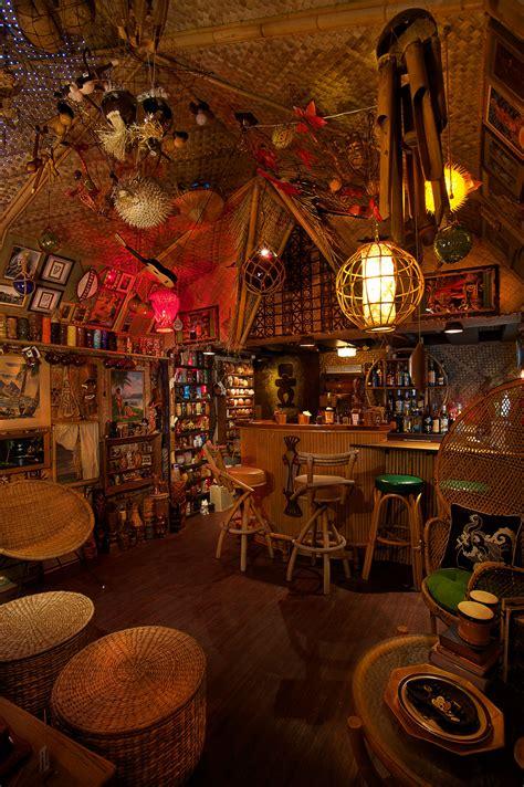 tiki bar decor  home readers    tiki