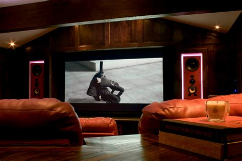 Custom Theater Room Design Installation Brentwood