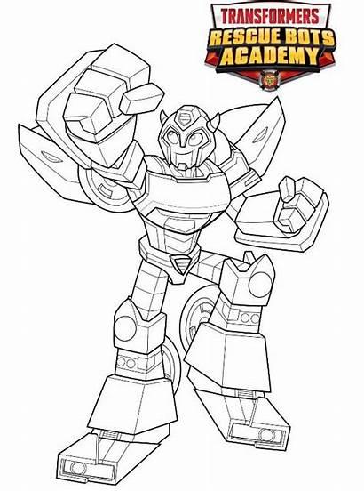 Bumblebee Rescue Transformers Coloring Bots Kleurplaat Fun