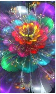 Light Colored Bloom - 3D and CG & Abstract Background ...