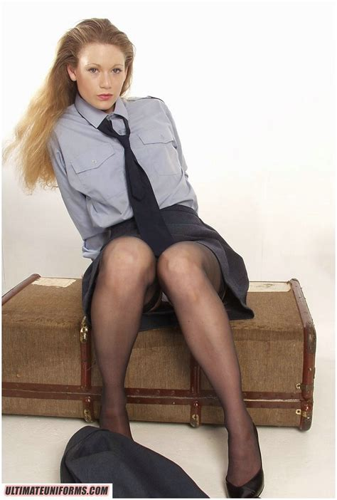 UltimateUniforms Your OnLine Site For Nylons High Heels Garterbelts And Uniformed Girls