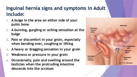 wall cord inguinal hernia