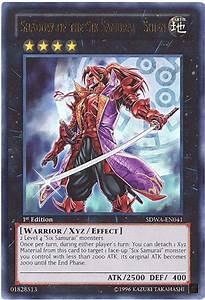Yu Gi Oh Card Sdwa En041 Shadow Of The Six Samurai