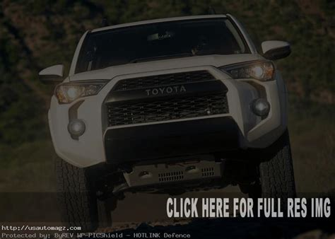 toyota runner redesign exterior  grill