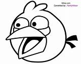 Angry Birds Coloring Pages Bird Getcoloringpages Space Printable Pig sketch template