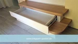 Treppe Mit Schubladen : holztreppe mit schubladen youtube ~ Watch28wear.com Haus und Dekorationen