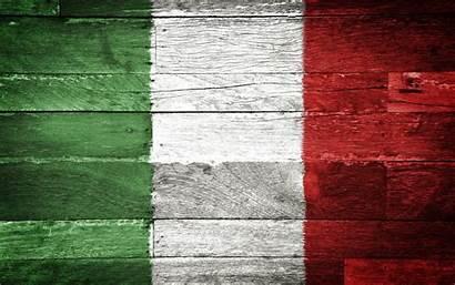 Flag Italia Italy Italian Bandiera Italiana Wood