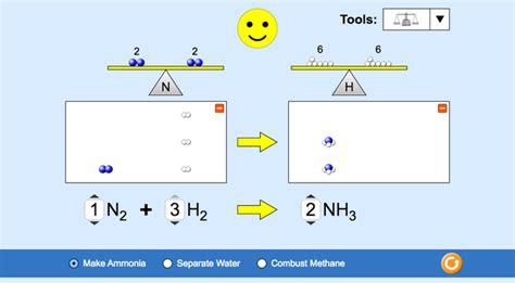 balancing chemical equations golabz