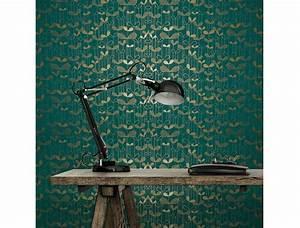 Papier Peint Bleu Canard : le bleu canard les d corateurs l adorent et vous ~ Farleysfitness.com Idées de Décoration