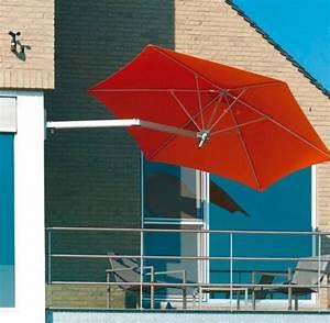 sonnenschirm perfekter sonnenschutz auf dem balkon With französischer balkon mit sonnenschirm 150 cm