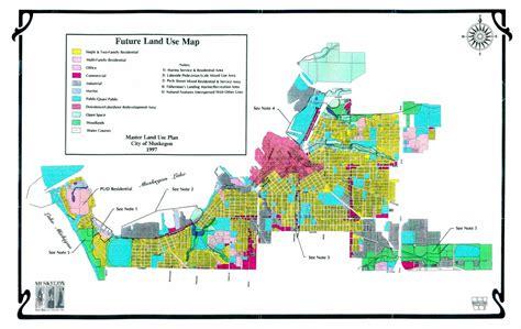 master land  plan city  muskegon