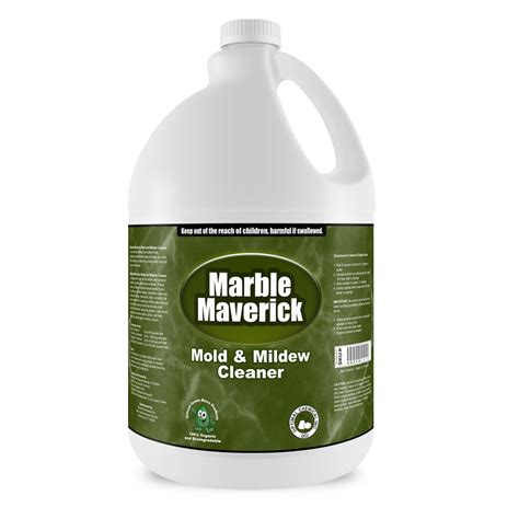 marble maverick non toxic mold and mildew cleaner 1 gallon