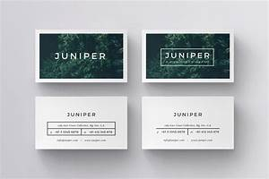 Juniper business cards template inspiration cardfaves for Buy business card templates