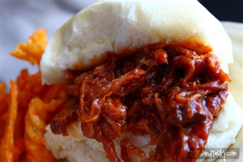 crock pot bbq pulled pork tried and tasty