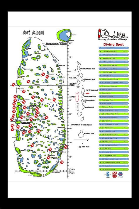 Pin By Ali Miuraj On Dive Site Map