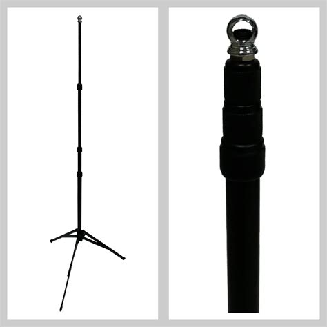 basic air sampling tripod