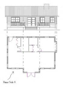 small home floor plans how to draw elevations