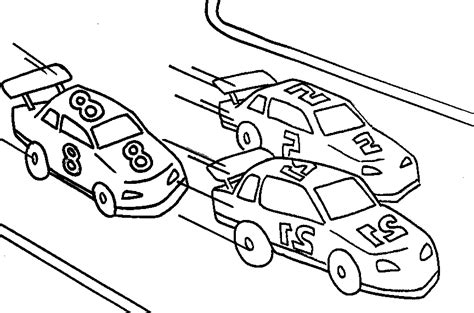 race car  race track coloring pages