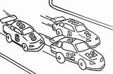 Coloring Pages Cars Colouring Track Template Street Racers Coloringhome sketch template