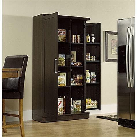kitchen storage armoire sauder home plus dakota oak storage cabinet 411572 the 3117