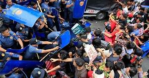 Philippine Police Probe Violent Protest Dispersal | Human ...