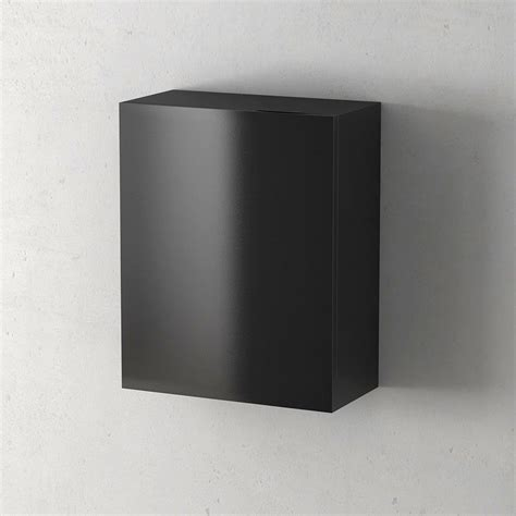 module porte flex noir brillant 40x45x20cm