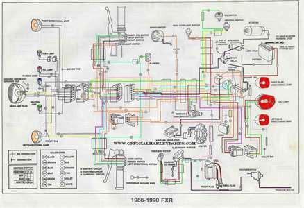 1988 Softail Handlebar Wiring Diagram by Solved Need Headlight Wiring Diagram For 1996rf900r Fixya