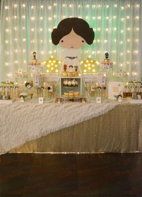 wars themed baby shower wars baby shower featuring princess leia wars