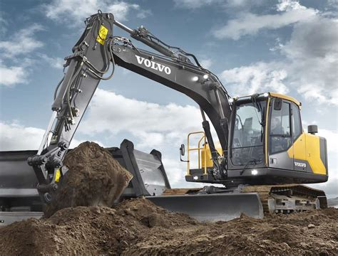 volvo ce unveils ece excavator  improved cab
