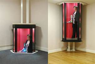 Stunning Small Elevators For Homes Ideas by This Trek Style Home Elevator Is Really Stunning
