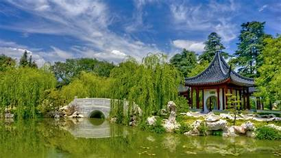 Chinese Garden Desktop Wallpapers Backgrounds Widescreen Hipwallpaper