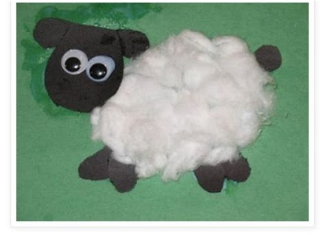 of god the lord is my shepherd draw a and glue 161 | b0a3d89dc4cf79bab7151bb75de432fc lamb craft preschool crafts