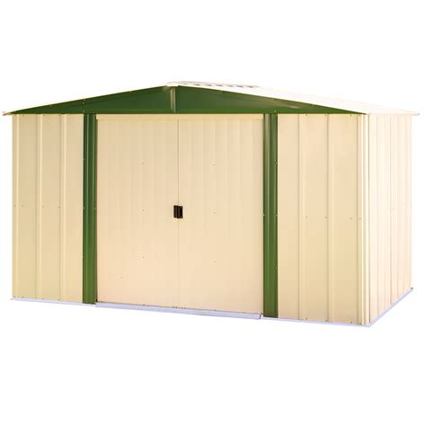 Arrow Shed Door Assembly by Arrow Hm86 Hamlet 8 X 6 Storage Shed