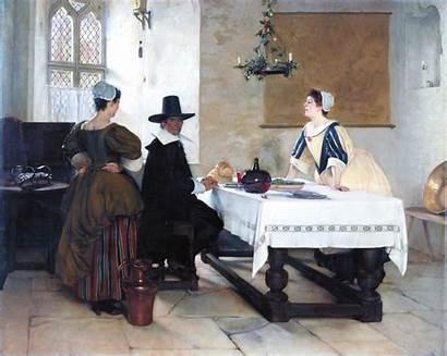 Millet Francis Fires Between Davis Paintings Painting