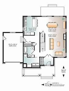 les 25 meilleures idees de la categorie maison a aire With plan maison entree sud 1 les 25 meilleures idees de la categorie plan maison