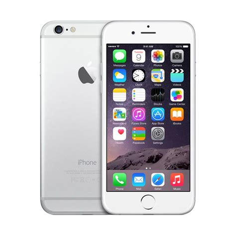 apple iphone 6 plus 64 gb grey garansi dist 1 thn free tempered glass ge show 2015 apple blibli