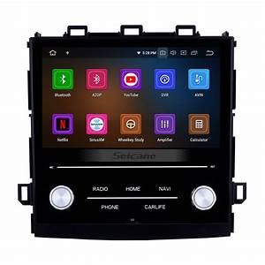 8 Inch Android 9 0 Hd Touch Screen Car Stereo Radio Head