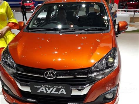 jual mobil daihatsu ayla 2019 r deluxe 1 2 di dki jakarta automatic hatchback orange rp 151 850