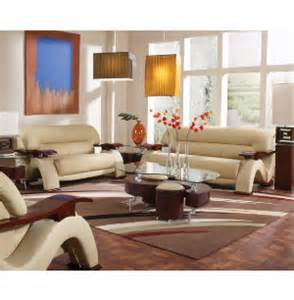 wave collection leather furniture sets living rooms