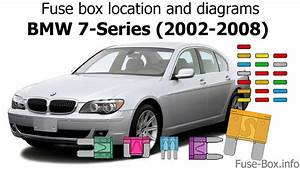 Fuse Box Location And Diagrams  Bmw 7