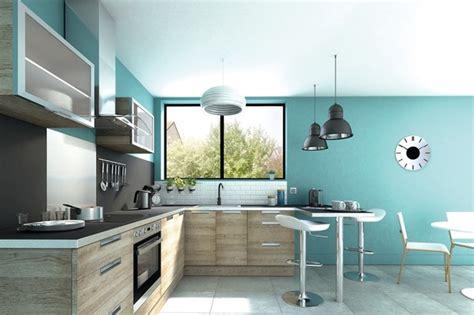 cuisine grise plan de travail bois des nouveautés dans les cuisines brico depot