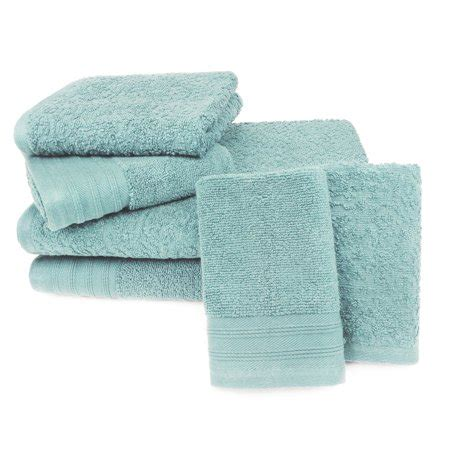 twist jacquard  piece bath towel set sterling blue walmartcom