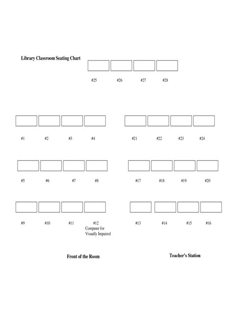 classroom seating chart template   templates
