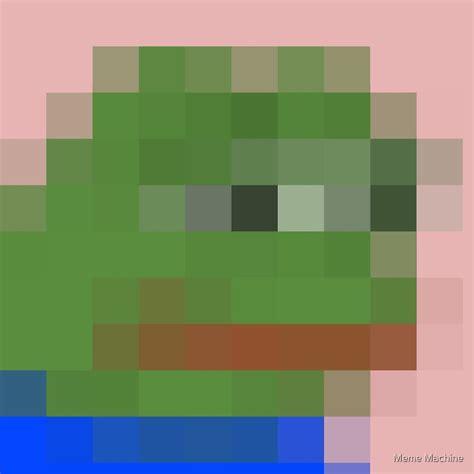 Pixel Pepe By Meme Machine Redbubble
