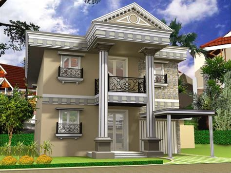 gambar desain rumah tingkat minimalis  lantai mewah