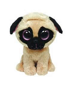 Ty Beanie Boos Pugsly Dog 6″ Plush