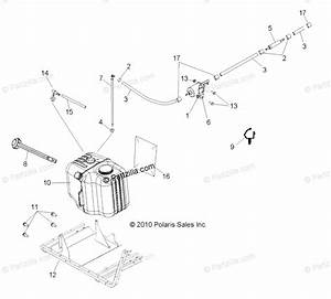 Polaris Side By Side 2011 Oem Parts Diagram For Body  Fuel