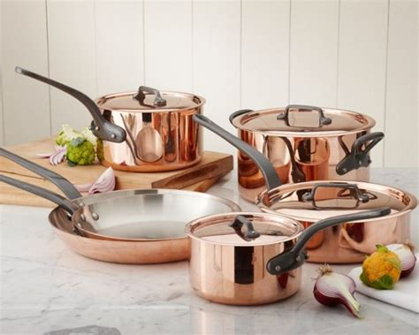 plunge  bought  professional mauviel copper cookware upgrades   kitchen